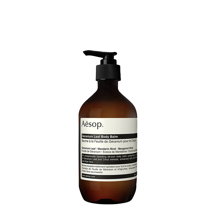 Bath + Body Aesop Geranium Leaf Body Balm 500ML - The Union Project, Cheltenham, free delivery