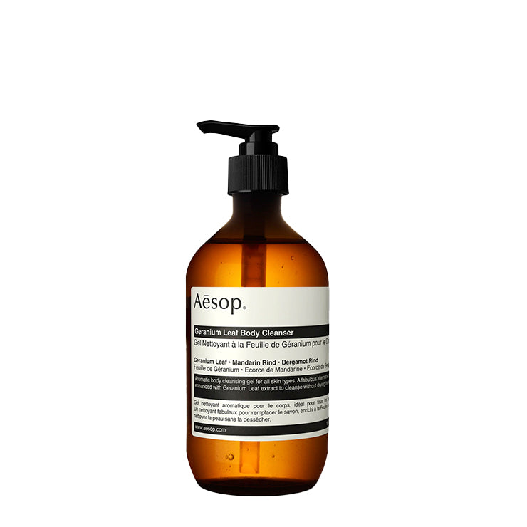 Bath + Body Aesop Geranium Leaf Body Cleanser 500ML - The Union Project, Cheltenham, free delivery
