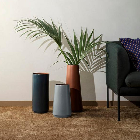 Plant Pots & Vases Dual Floor Vase: Grey - The Union Project