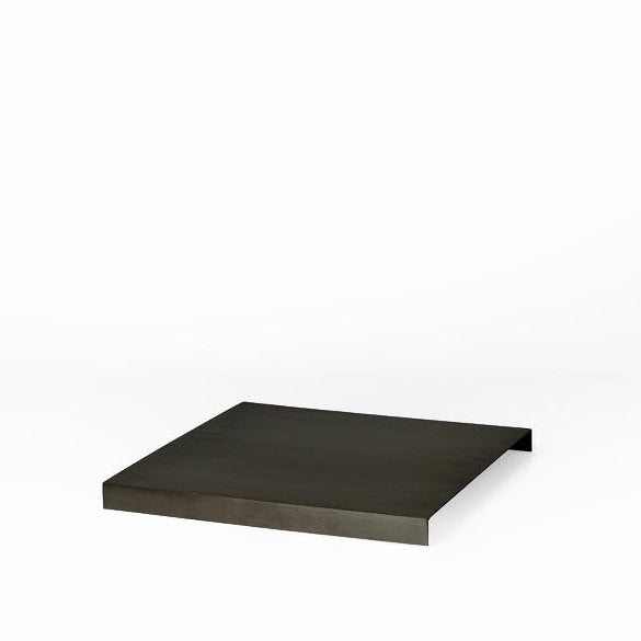 Ferm Living Tray For Plant Box: Black Brass - The Union Project