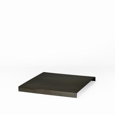Tray For Plant Box: Black Brass