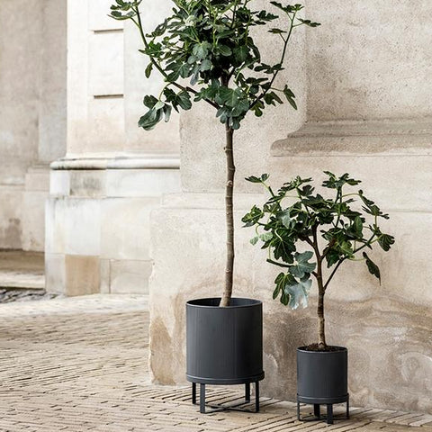 Plant Pots & Vases Ferm Living Bau Pot Small: Dark Blue - The Union Project