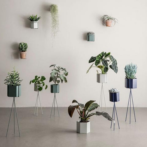 Plant Stand High: Light Grey