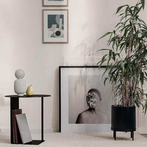 Plant Pots & Vases Ferm Living Bau Pot Large: Black - The Union Project