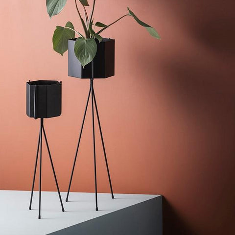 Ferm Living Plant Stand High: Black