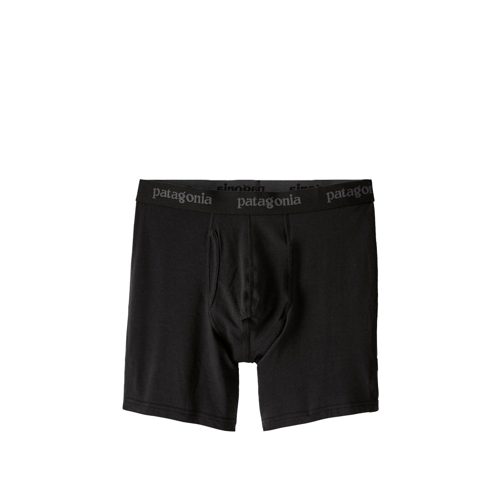 Patagonia Essential Boxer Briefs 6in: Black - The Union Project