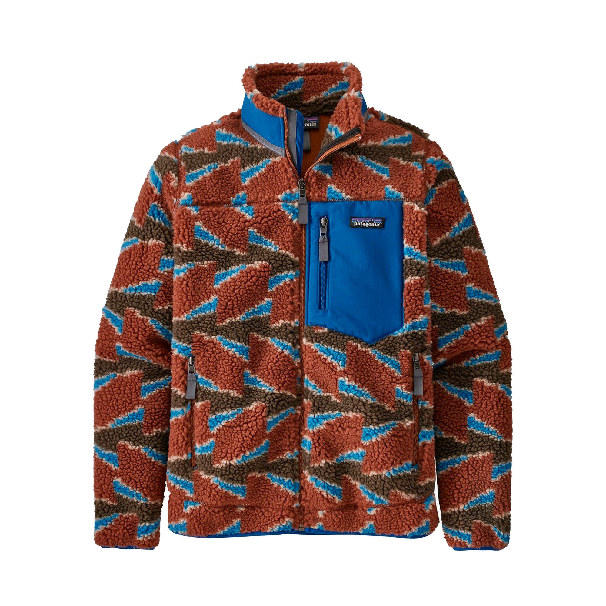 Patagonia Womens Retro-X Jacket: Take Root: Burnished Red - The Union Project
