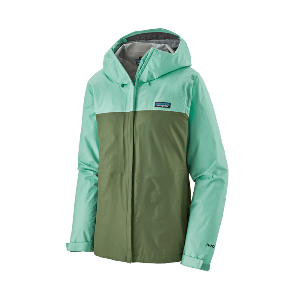 Outerwear Patagonia Womens Torrentshell Jacket: Gypsum Green - The Union Project, Cheltenham, free delivery