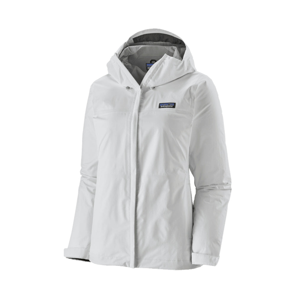Patagonia Womens Torrentshell Jacket: Birch White - The Union Project
