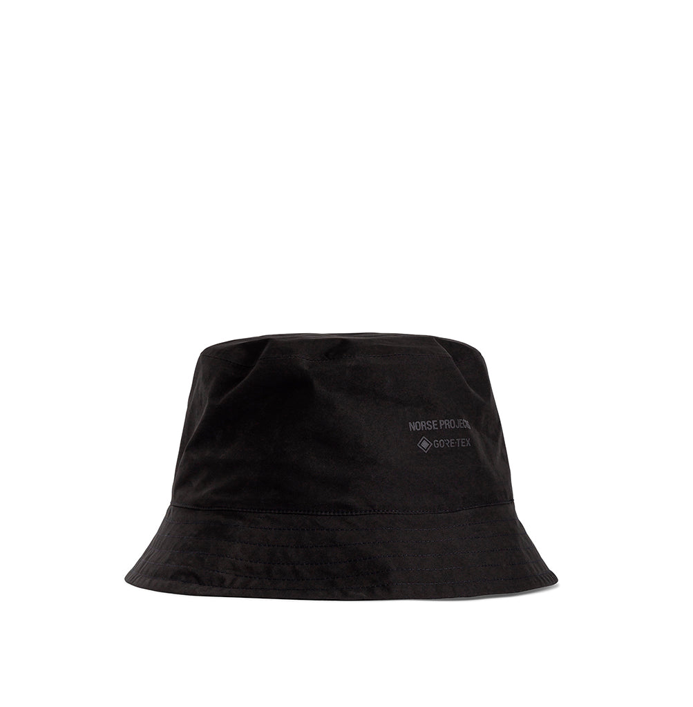 Norse Projects Gore-Tex Bucket Hat: Black - The Union Project