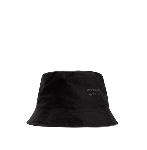 Norse Projects Gore-Tex Bucket Hat: Black