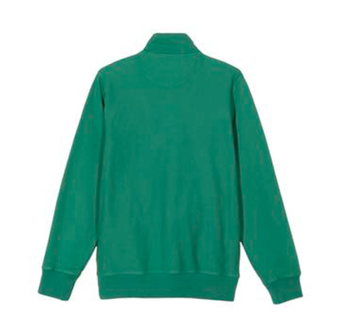 Stussy Stock Logo Mock Neck: Green