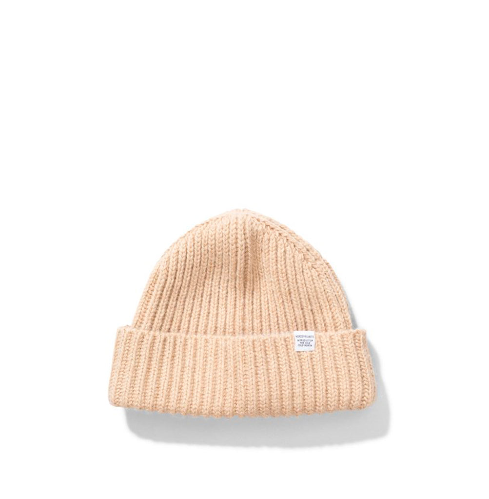 Beanies Norse Projects Women Gudrun Alpaca Beanie: Camel Melange - The Union Project, Cheltenham, free delivery