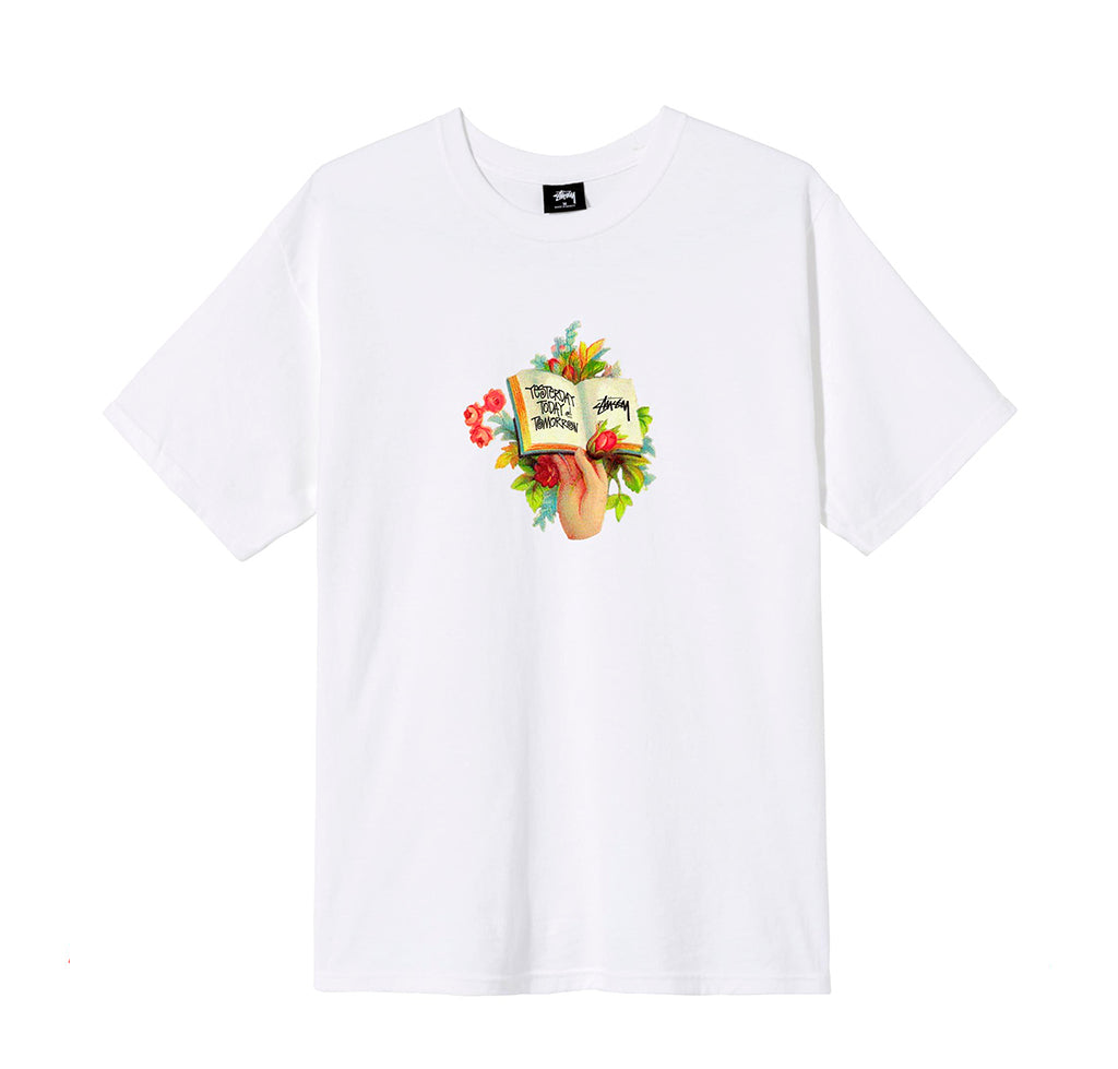 T-Shirts Stussy Handbook Tee: White - The Union Project, Cheltenham, free delivery