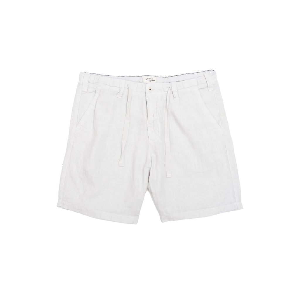 Shorts Hartford Linen Boy Shorts: White - The Union Project, Cheltenham, free delivery