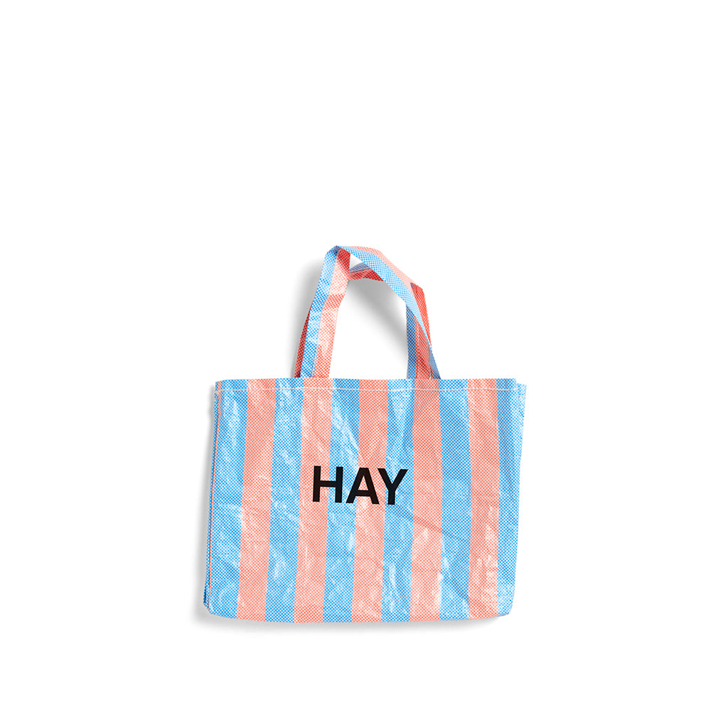Hay Candy Stripe Shopper M: Blue / Orange - The Union Project