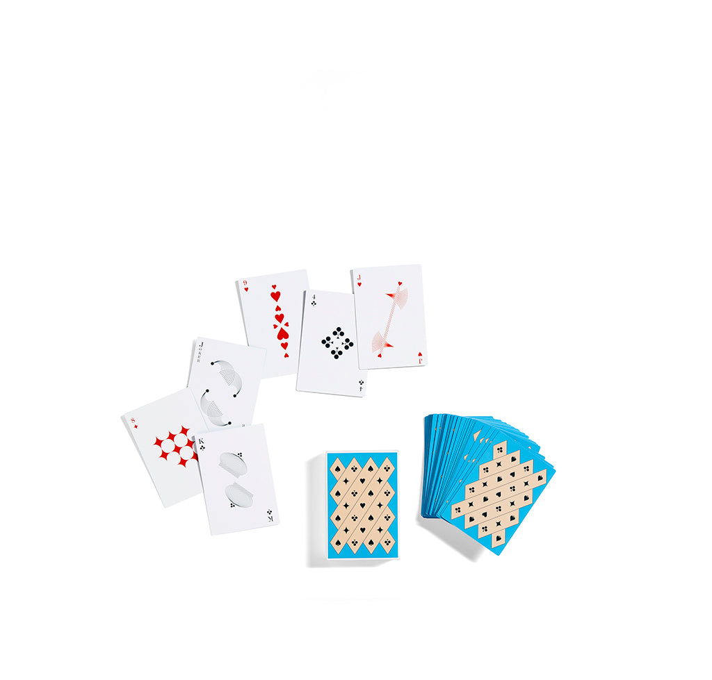 HAY Playing Cards: Blue - The Union Project