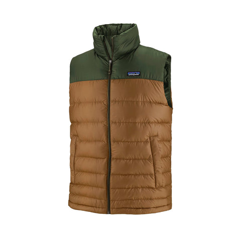 Patagonia Hi-Loft Down Vest: Owl Brown