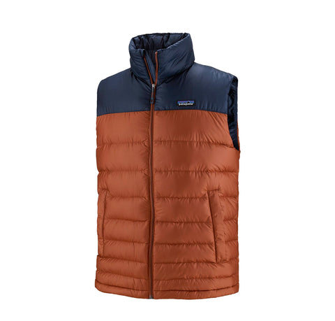 Patagonia Hi-Loft Down Vest: Barn Red