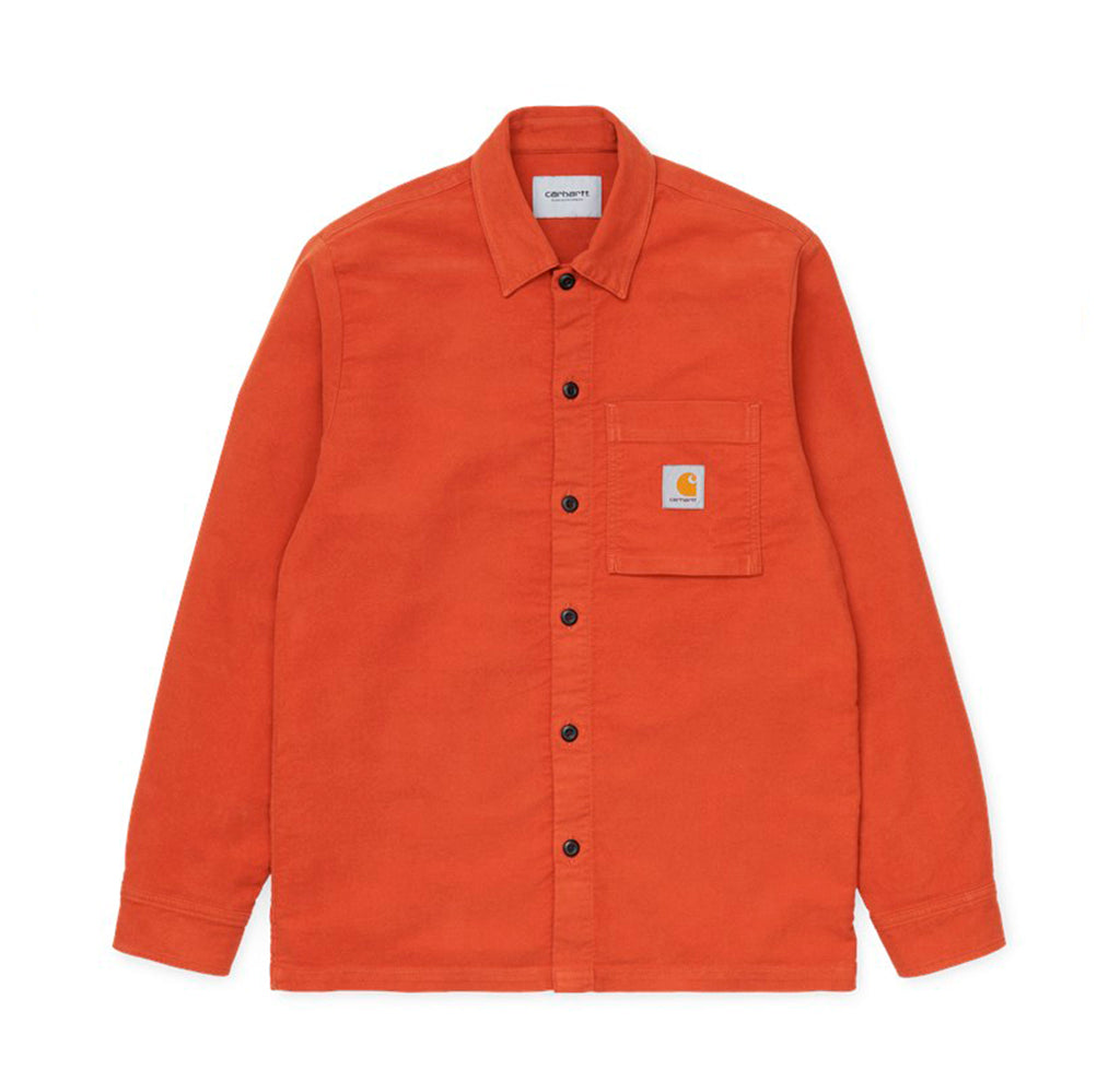 Carhartt WIP Holston Shirt: Cinnamon - The Union Project