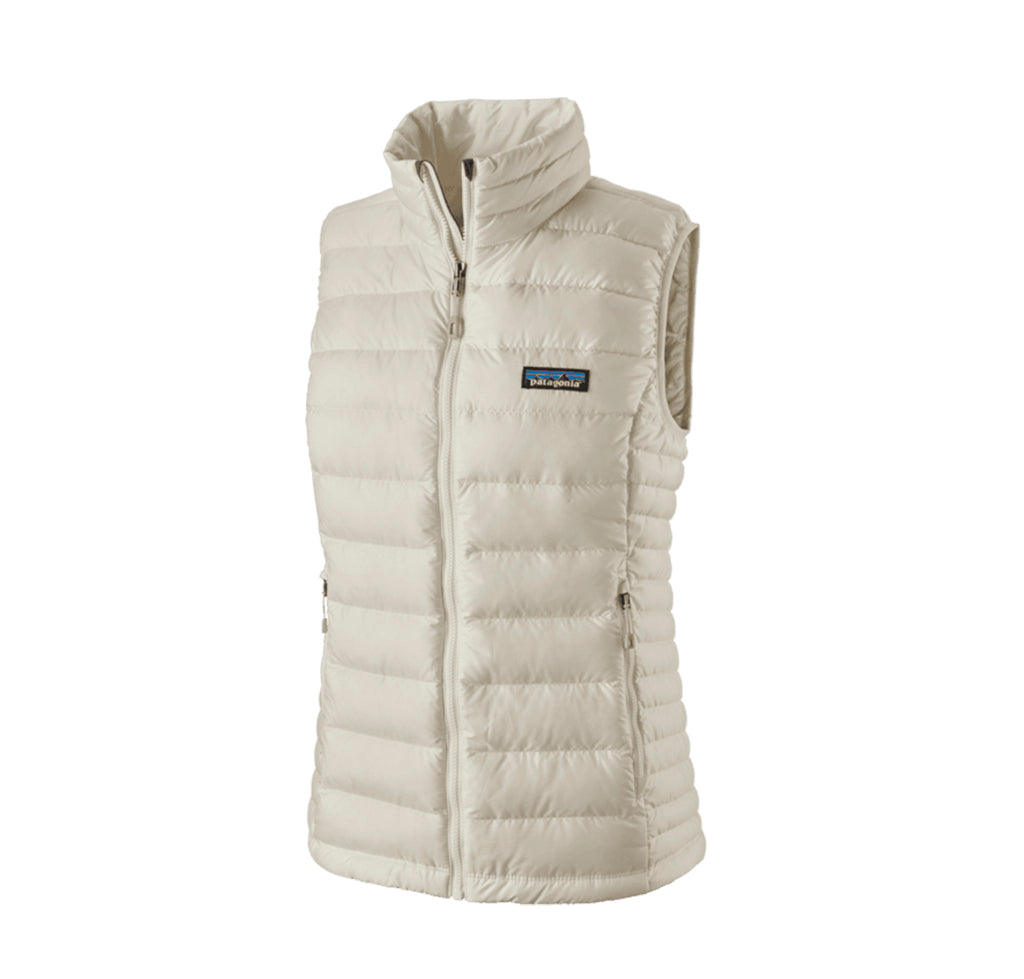 Patagonia Womens Down Sweater Vest: Birch White - The Union Project