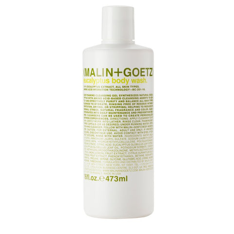 Skincare + Fragrance Malin + Goetz Eucalyptus Body Wash: 473ml - The Union Project, Cheltenham, free delivery