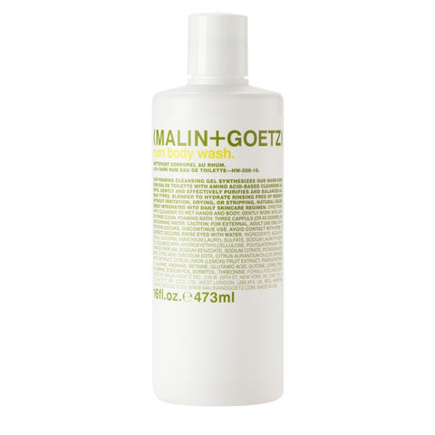 Skincare + Fragrance Malin + Goetz Rum Body Wash: 473ml - The Union Project, Cheltenham, free delivery