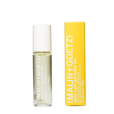 Skincare + Fragrance Malin + Goetz Dark Rum Perfume Oil: 9ml - The Union Project, Cheltenham, free delivery