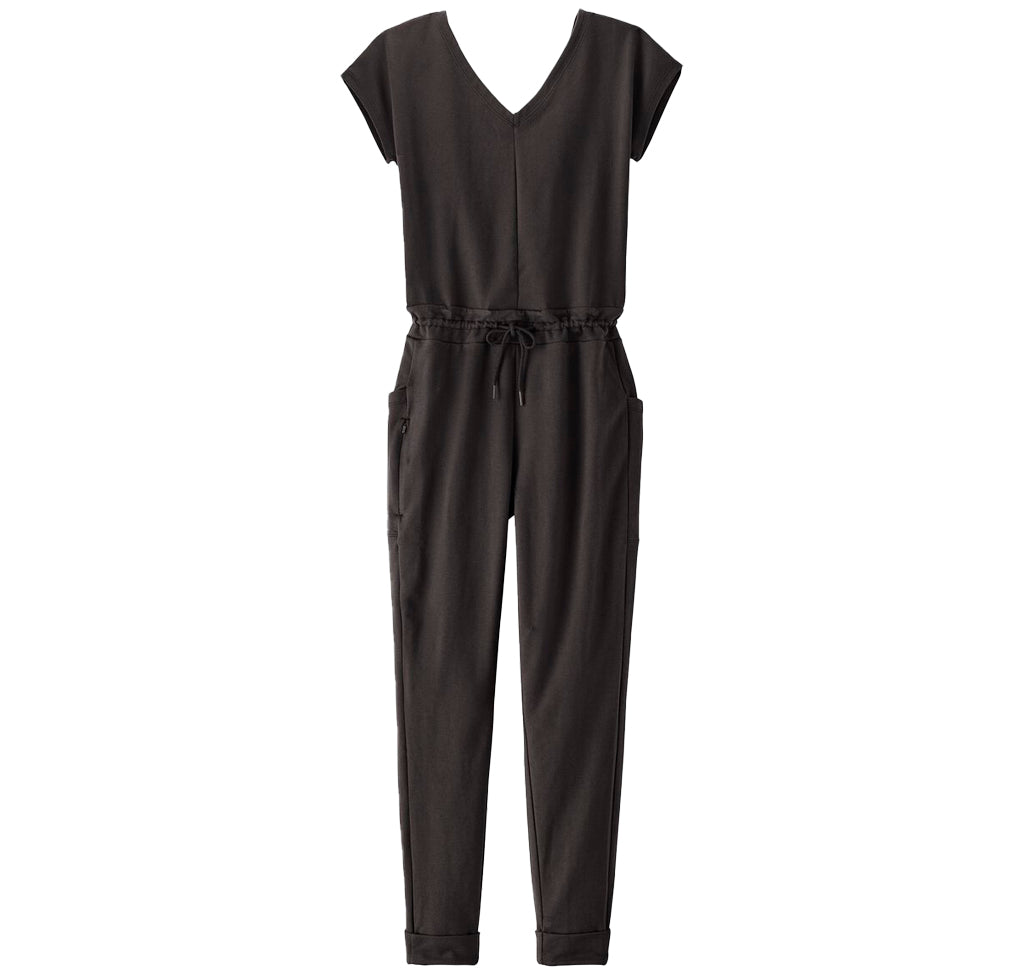 Patagonia Womens Roaming Jumpsuit: Black - The Union Project