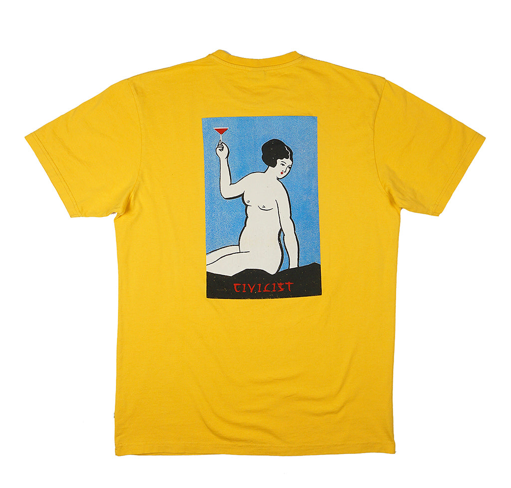 Civilist Kanpai Tee: Old Yellow - The Union Project