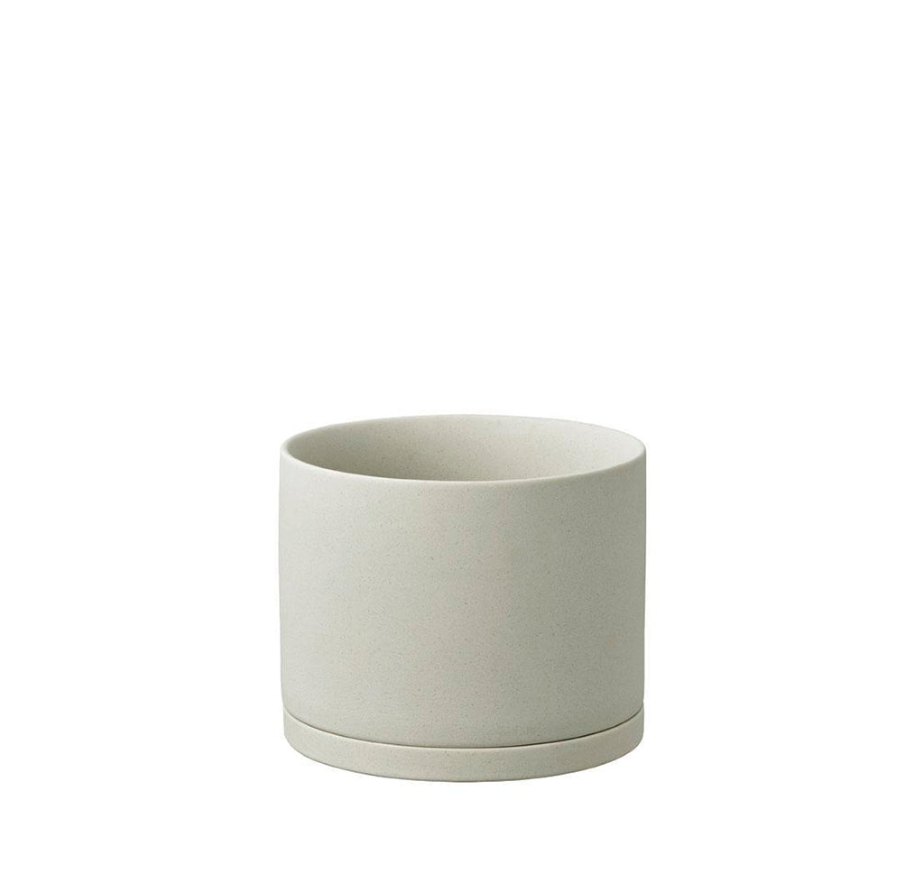 Plant Pots + Vases KINTO Plant Pot (135): Earth Grey - The Union Project, Cheltenham, free delivery
