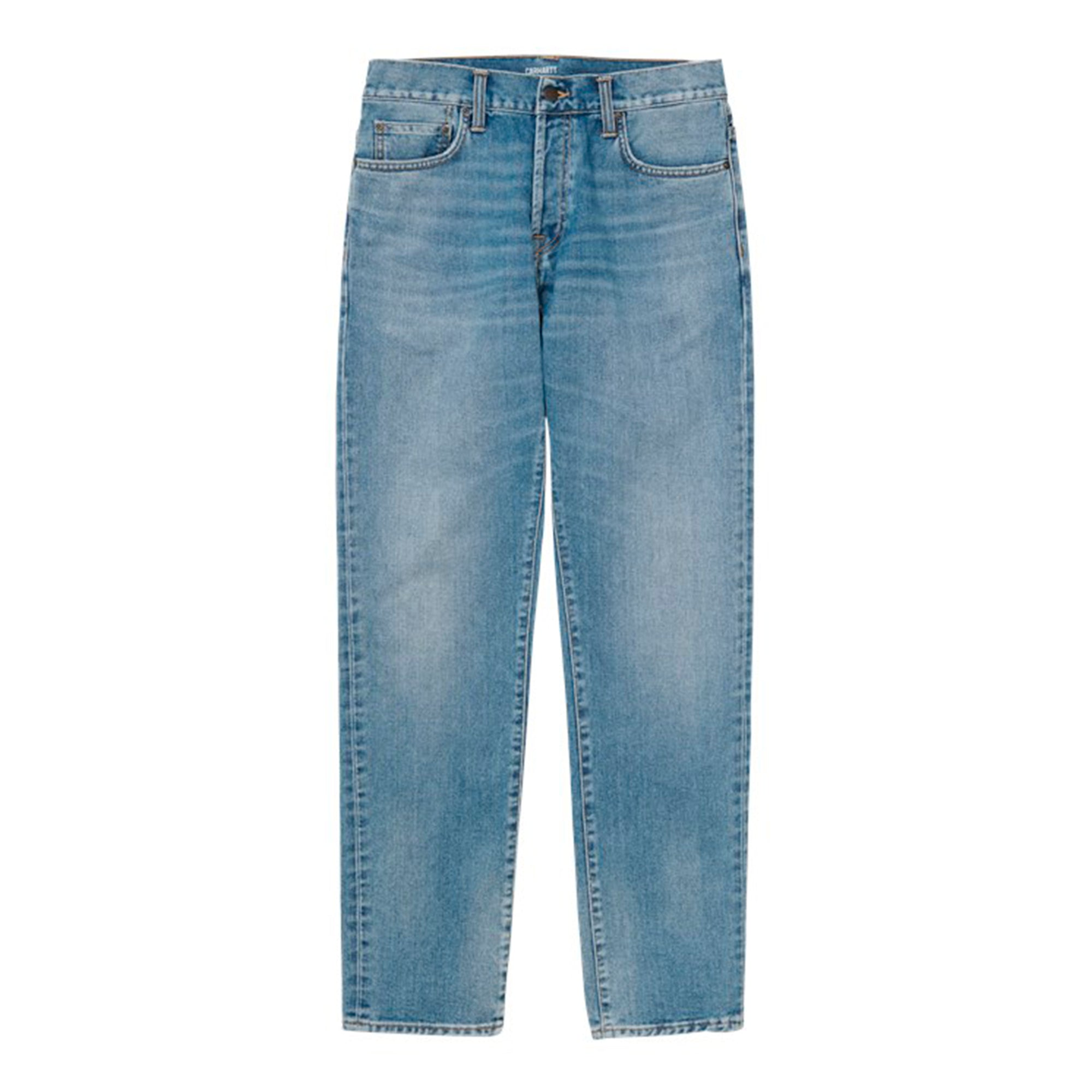 Carhartt WIP Klondike Pant: Blue Worn Bleached - The Union Project