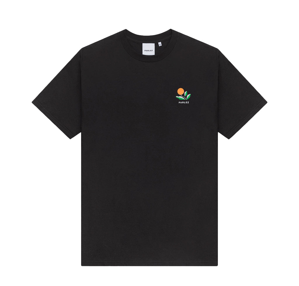 Parlez Kojo Back Print T-Shirt: Black - The Union Project
