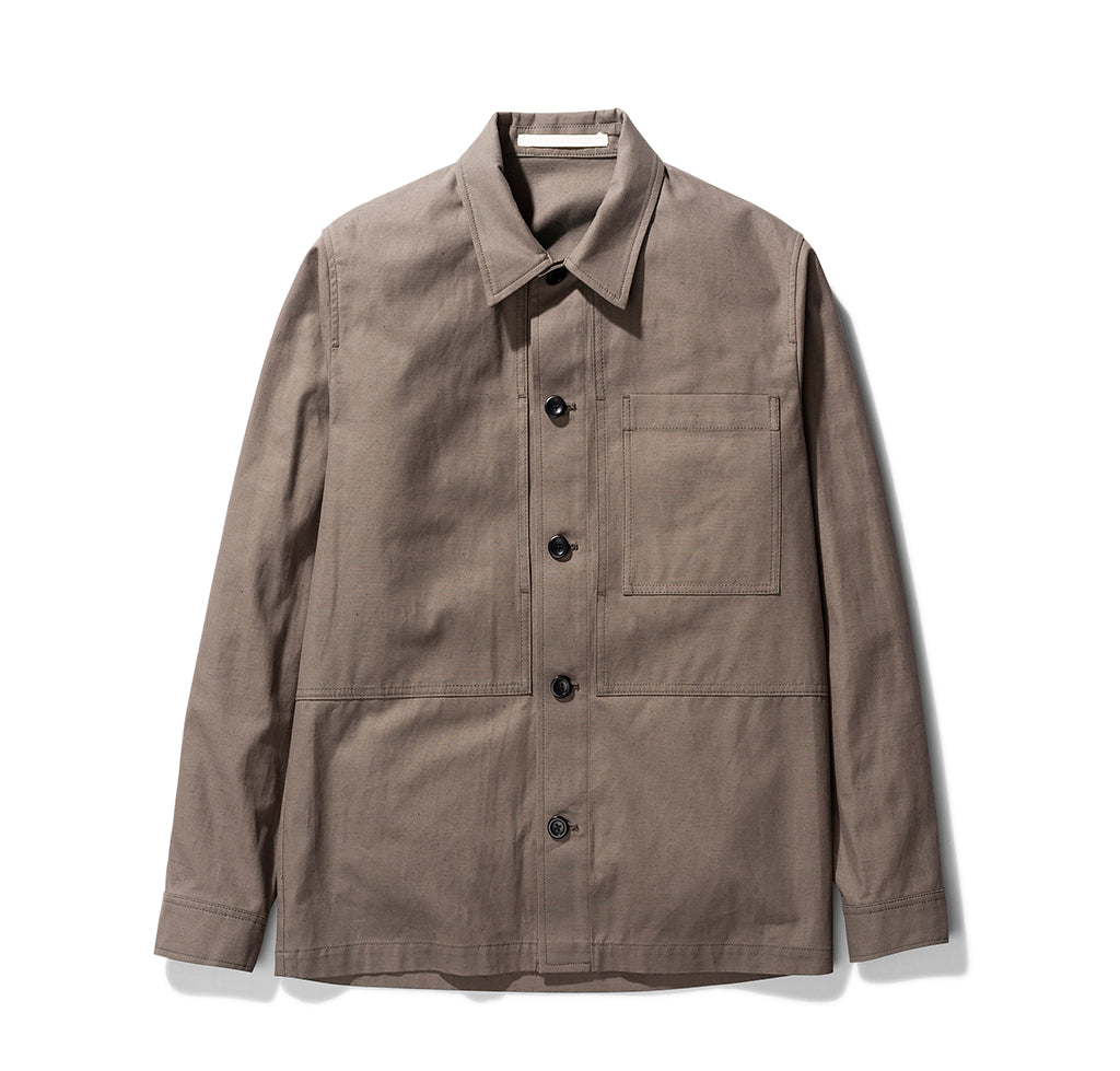 Norse Projects Kyle Cotton Linen: Taupe - The Union Project