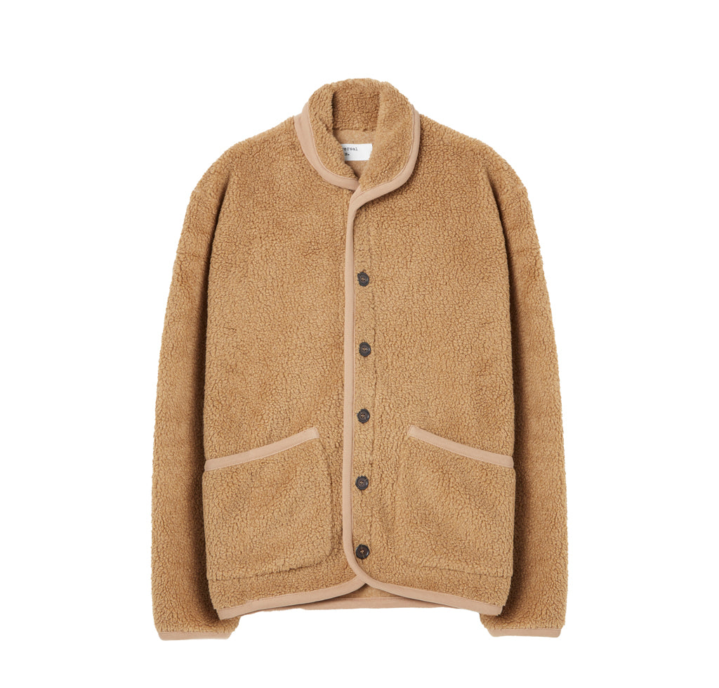 Outerwear Universal Works Fleece Lancaster Jacket: Sand - The Union Project, Cheltenham, free delivery