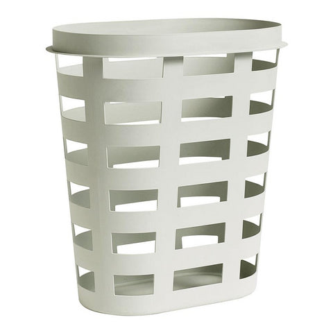HAY Laundry Basket L: Light Grey