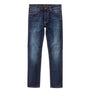Nudie Jeans Lean Dean: Dark Deep Worn