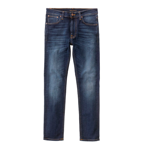 legwear Nudie Jeans Lean Dean: Dark Deep Worn - The Union Project, Cheltenham, free delivery