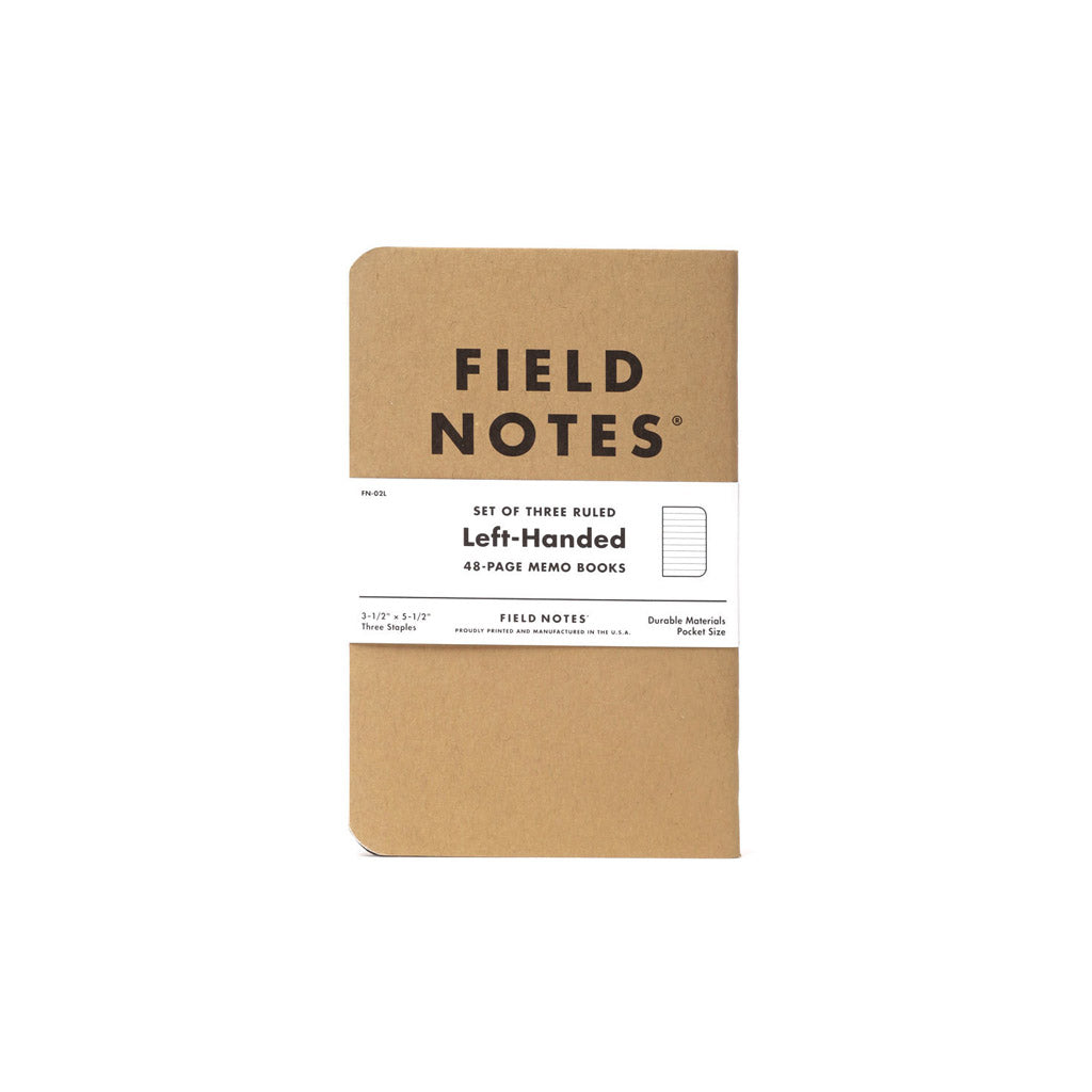 Paper Goods Left-Handed Note Book - The Union Project, Cheltenham, free delivery