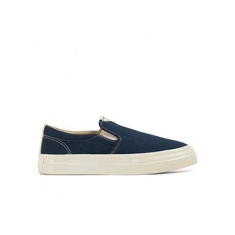 Footwear Stepney Workers Club Canvas Lister Slip On: Petrol - The Union Project, Cheltenham, free delivery