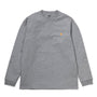 Carhartt WIP Chase Longsleeve T-Shirt: Grey Heather