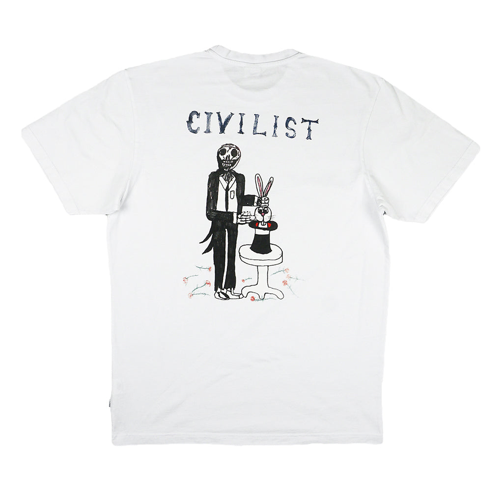 Civilist LSD Magician Tee: White - The Union Project