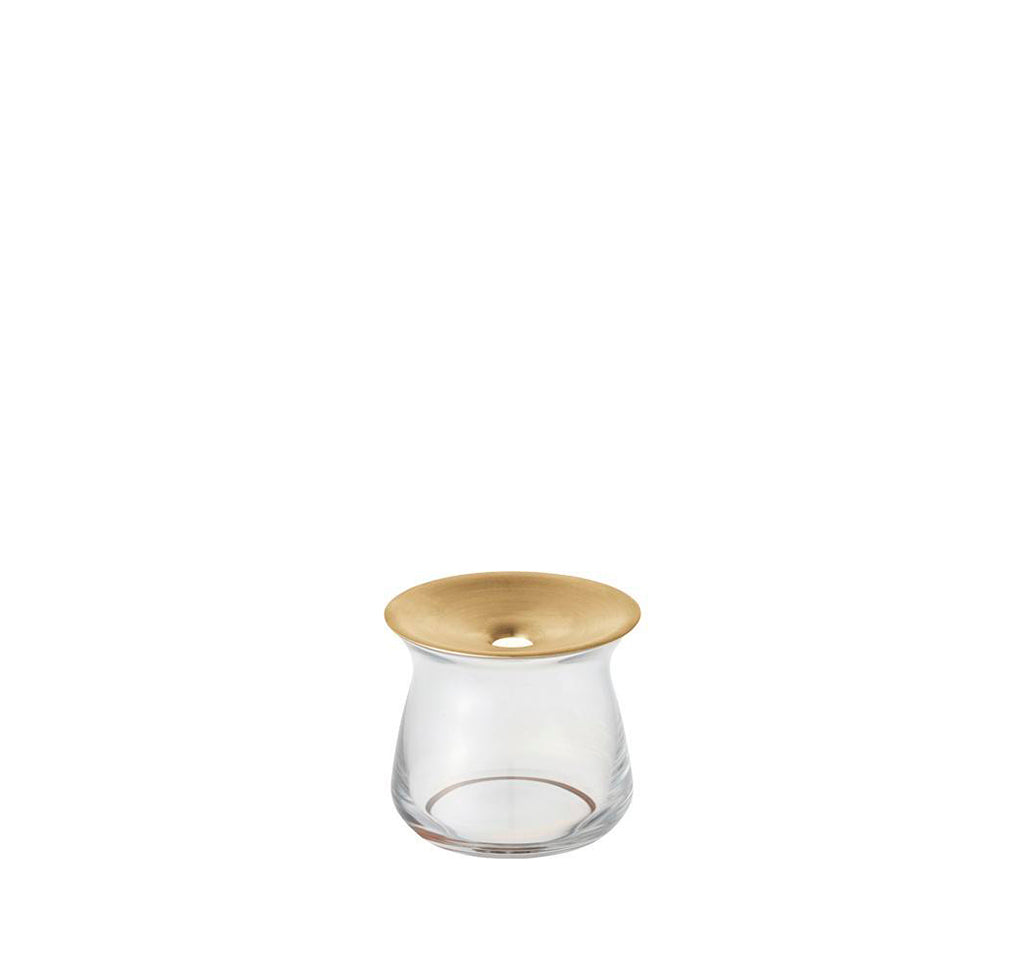 KINTO Luna Vase (80x70): Clear - The Union Project