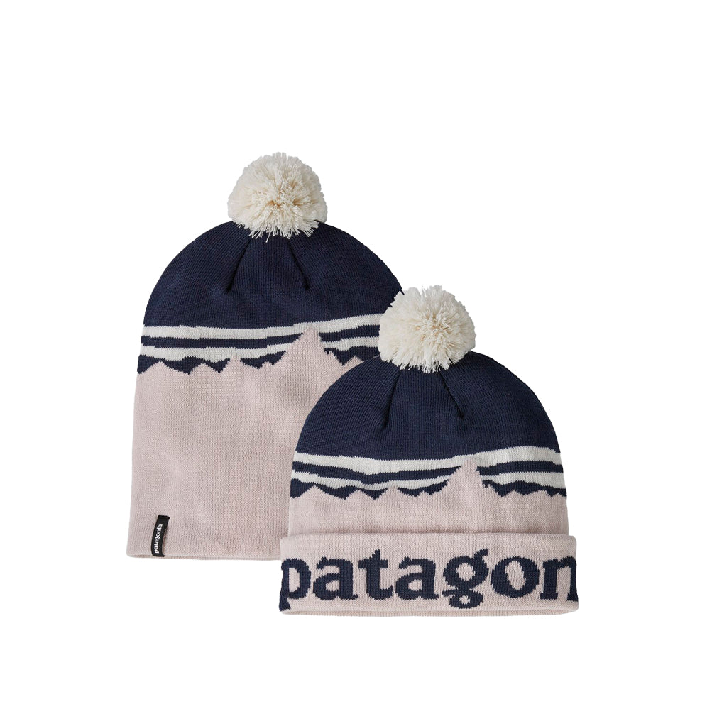 Patagonia LW Powder Town Beanie: Fitz Roy Sunrise Knit: Phloxy Purple - The Union Project