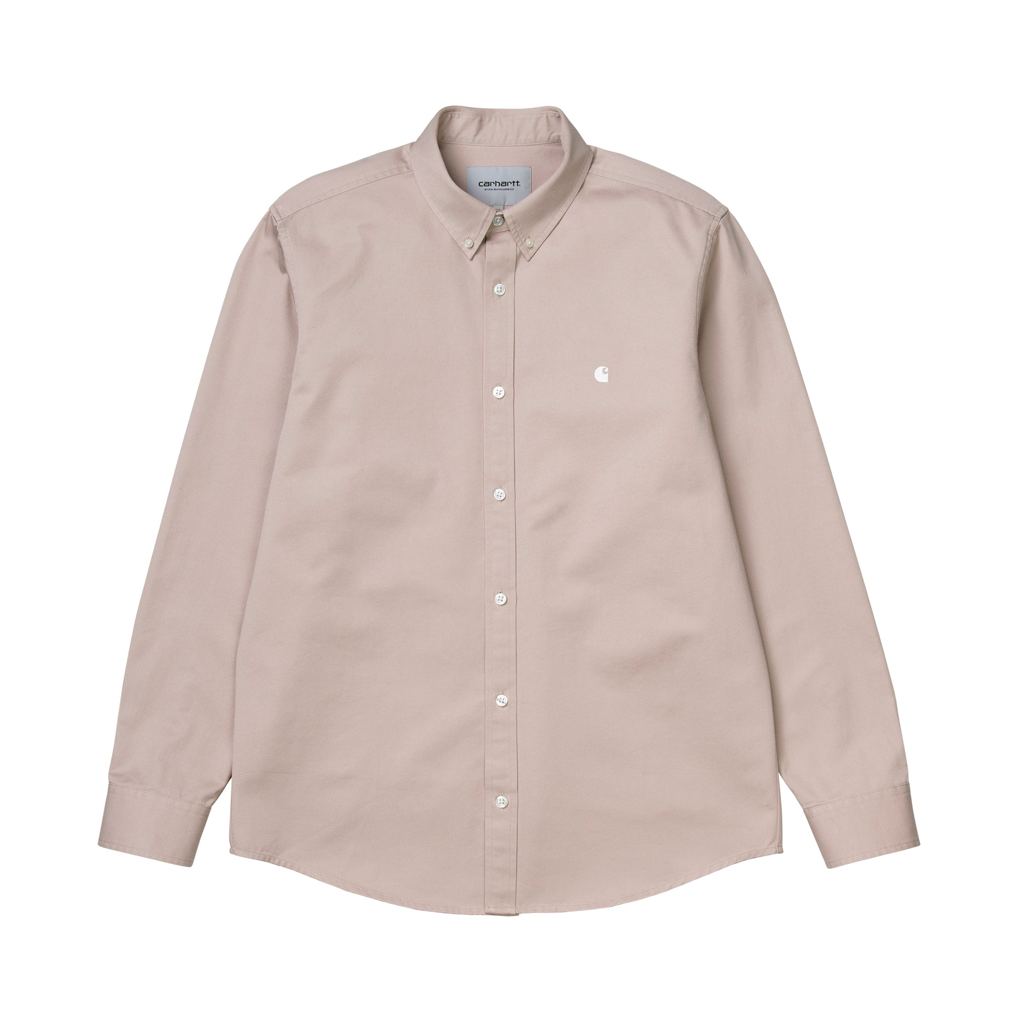 Carhartt WIP Madison Shirt: Glaze / Wax - The Union Project