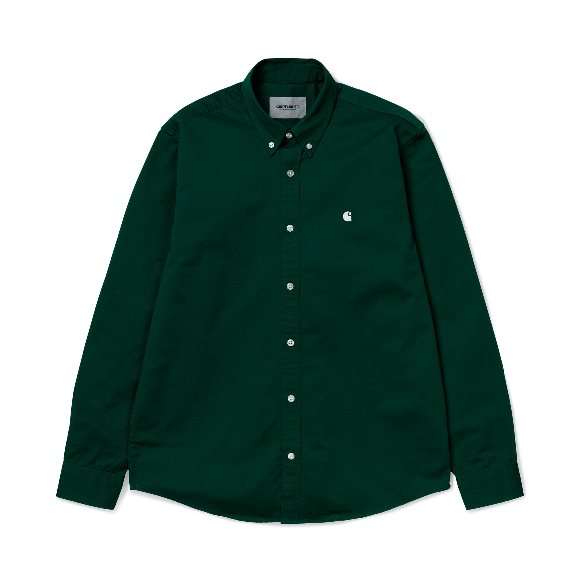 Carhartt WIP Madison Shirt: Treehouse / Wax - The Union Project