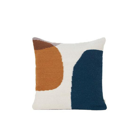 Ferm Living Kelim Cushion: Merge
