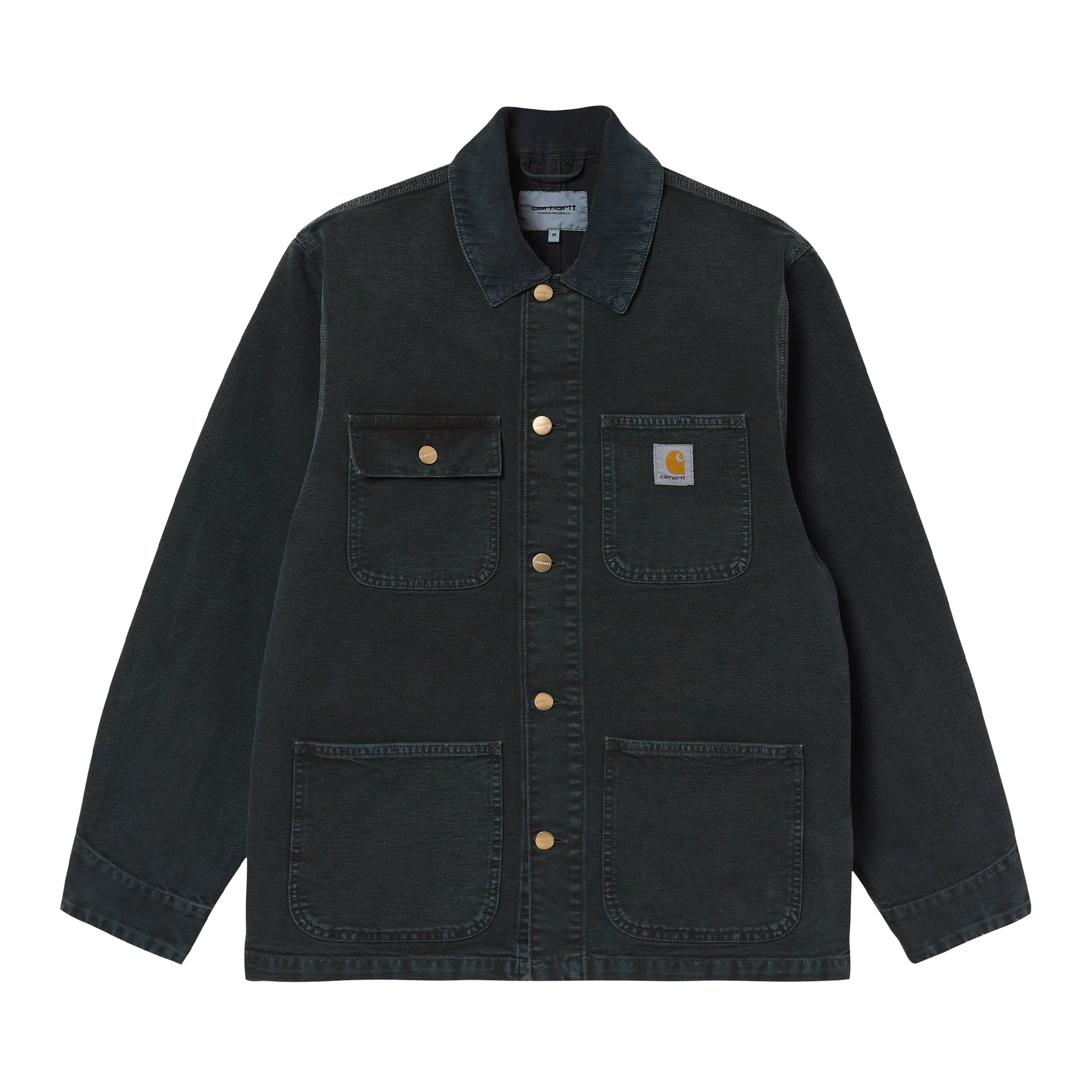 Carhartt WIP Michigan Coat: Black / Black - The Union Project