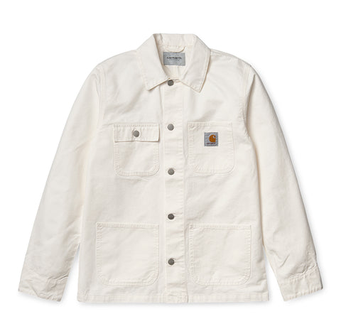 Carhartt WIP Michigan Chore Coat: Off White