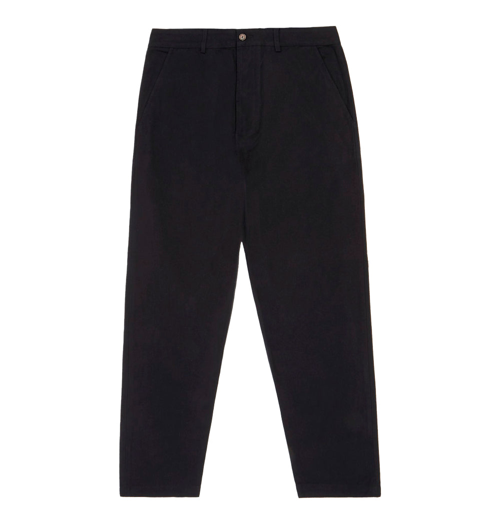 Legwear Universal Works Military Chino: Black - The Union Project, Cheltenham, free delivery